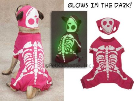 Glow In The Dark dog costume