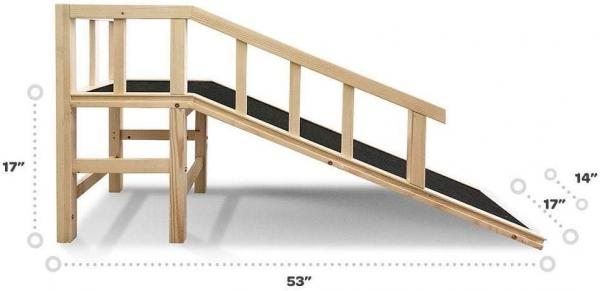 Gentle Rise Dog Couch Ramp