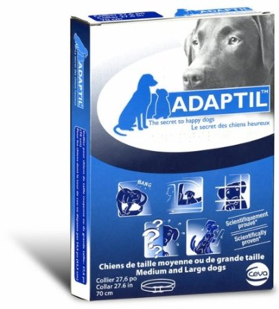 Adaptil DAP Collar for anxious or hyperactive dogs