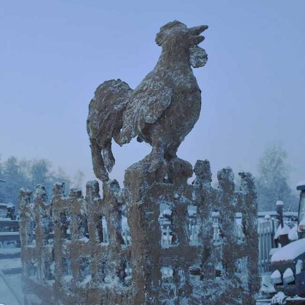 Russian Farmer Sculpts Huge Animal Statues From Cow Manure
