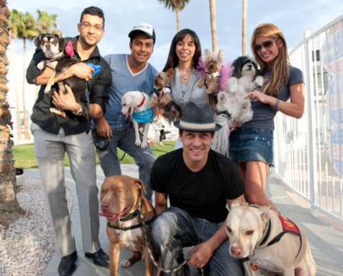 """Masters & their BFFs at Rumor's """"Yappy Hour"""""""