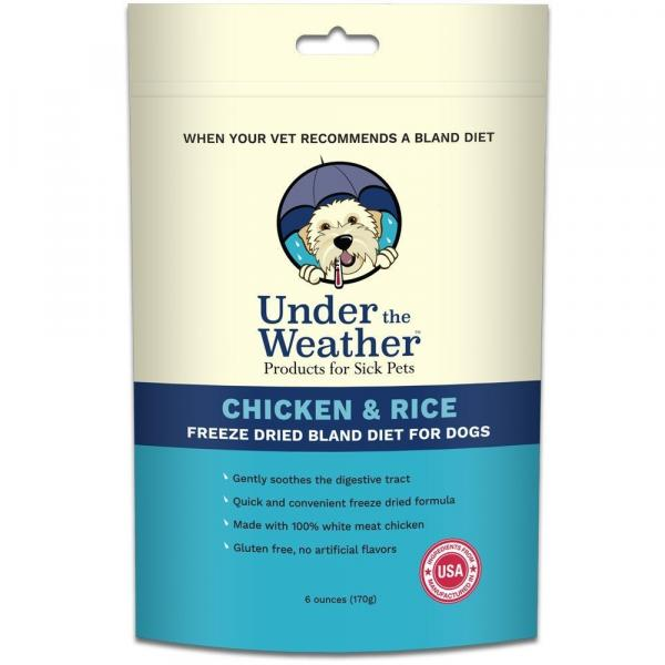 Under The Weather Chicken & Rice Diet