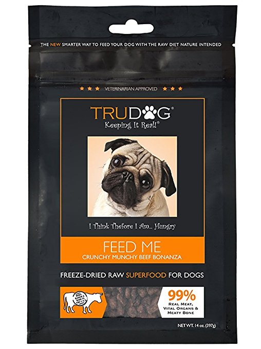 True Dog All Beef Freeze Dried Diet