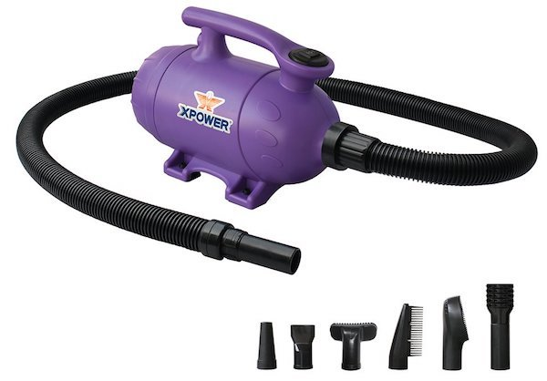 XPower B-2 Pro-at-Home 2-in-1 Dog Grooming Pet Dryer and Vacuum