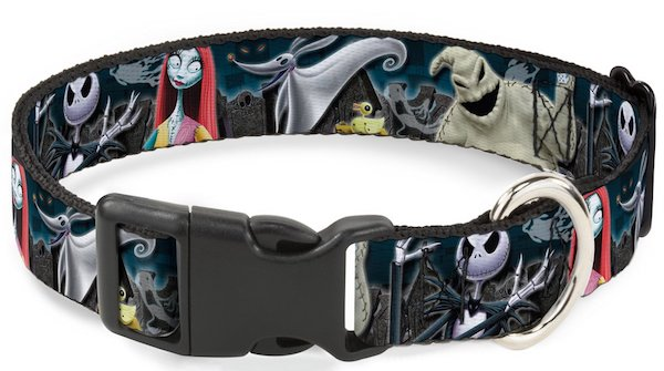 Buckle-Down Nightmare Before Christmas Plastic Clip Collar