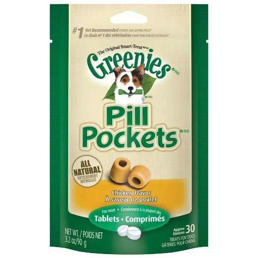 Greenies Pill Pockets Soft Dog Treats