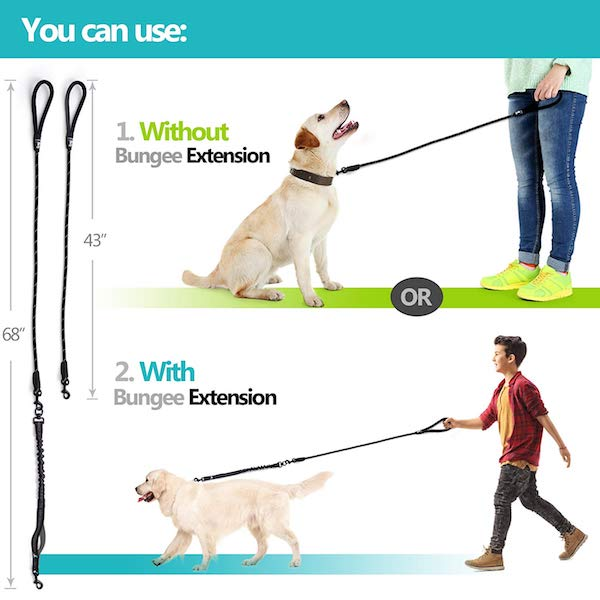 SparklyPets Heavy Duty Rope Leash