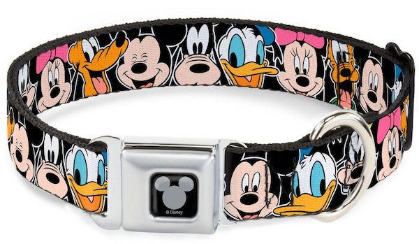 Buckle-Down Disney Character Seat Belt Buckle Dog Collar