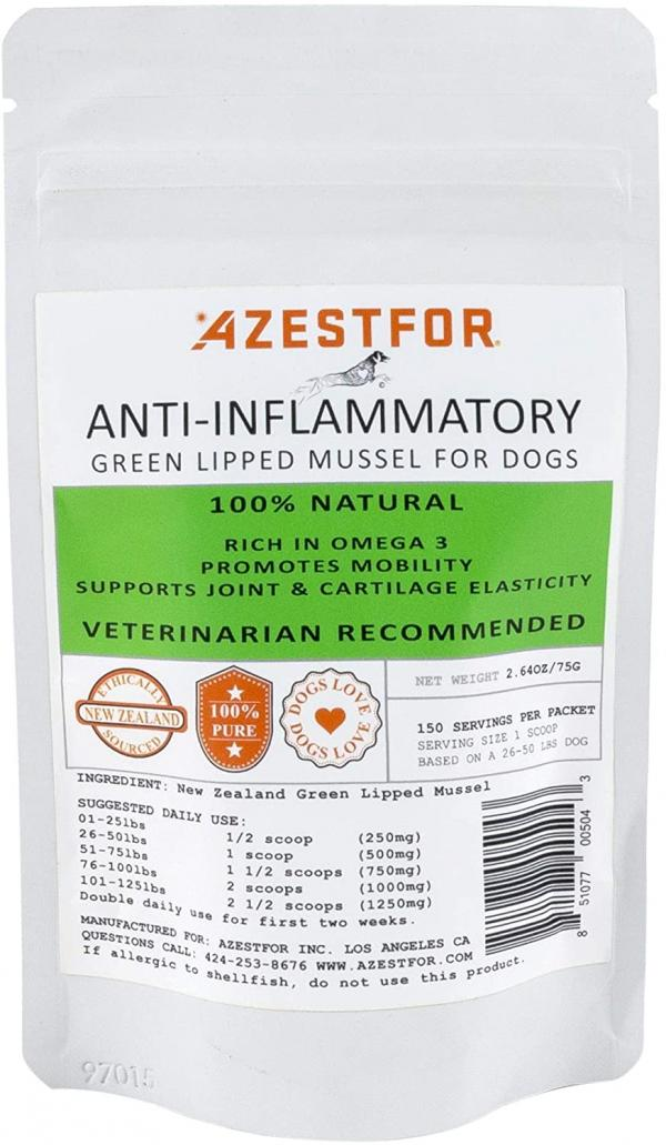 AZestFor Anti-Inflammatory Green Lipped Mussel for Dogs