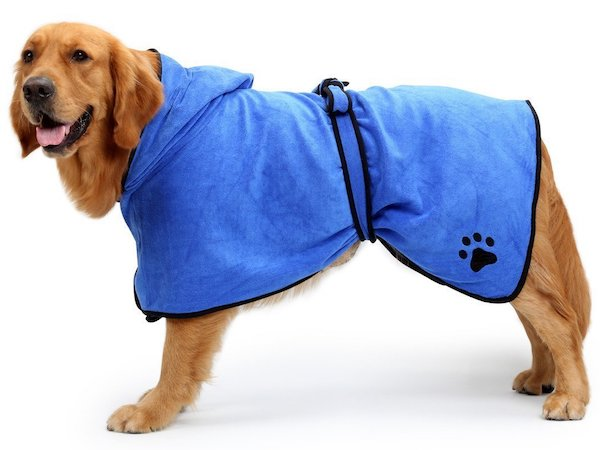 BONAWEN Dog Easy Wear Dog Towel