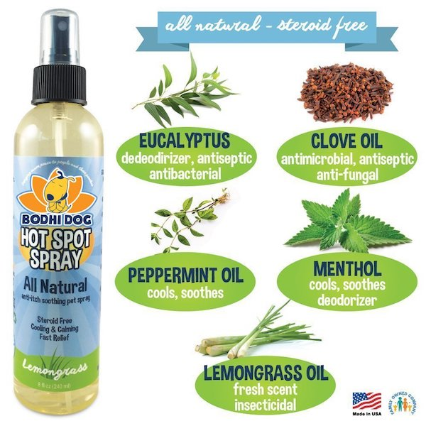 Bodhi Dog All Natural Pet Hot Spot Spray
