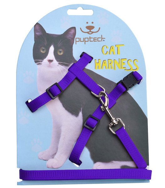 Pupteck Adjustable Strap Cat Harness