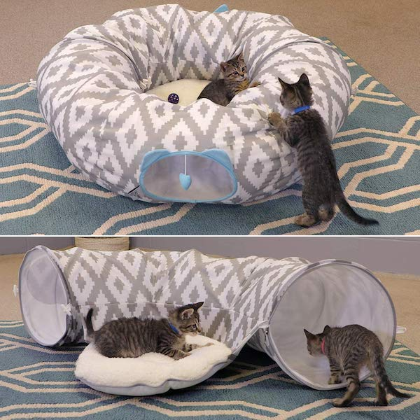 Kitty City Combination Bed and Cat Tunnel