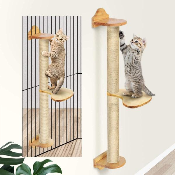FUKUMARU Cat Activity Tree with Scratching Posts
