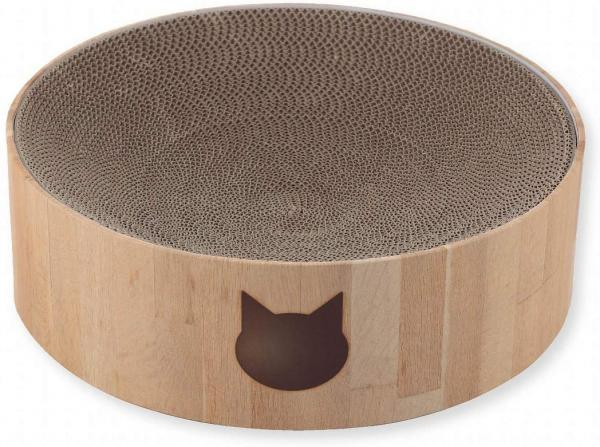 Necoichi Cozy Cat Scratcher Bowl