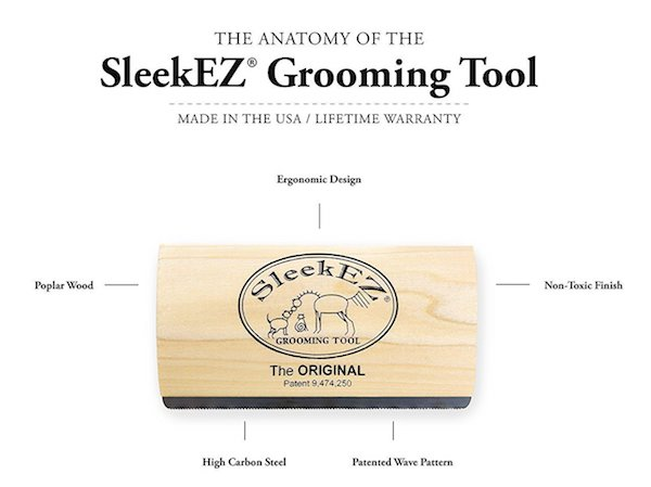 SleekEZ Original Deshedding Grooming Tool