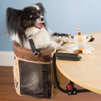 The Pet High Chair: Hammacher Schlemmer