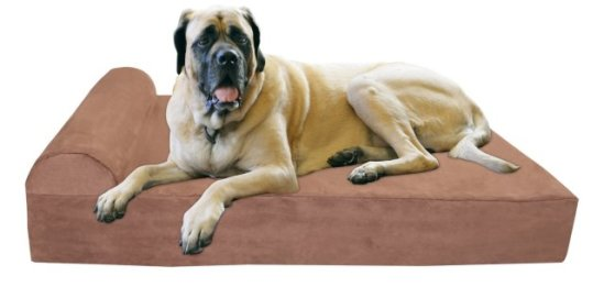 Big Barker Orthopedic Pet Bed for large and extra-large breed dogs