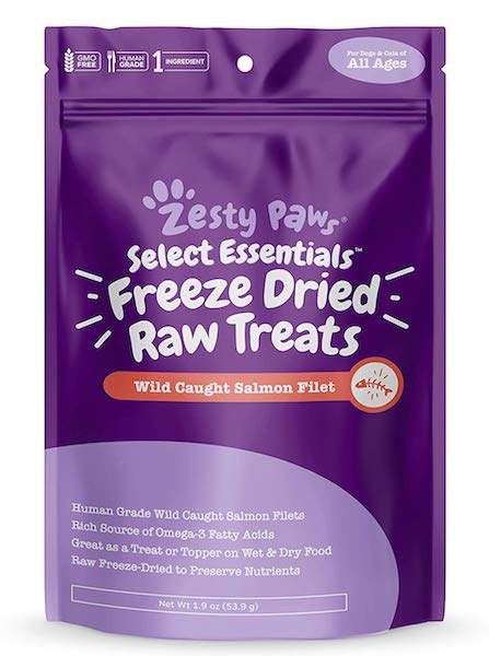 Zesty Paws Raw Freeze-Dried Treats For Dogs And Cats