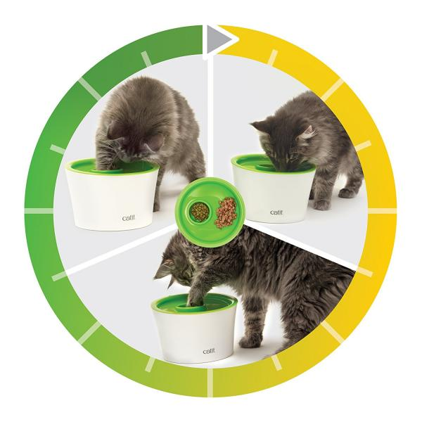 Catit Raised Multiple Cat Feeder