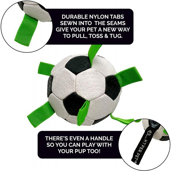 Hyper Pet Grab Tab Dog Soccer Ball