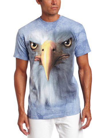 Eagle Face T-Shirt by The Mountain