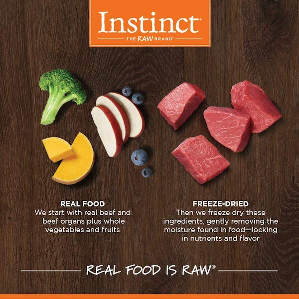 Instinct Freeze Dried Dog Food Mixers