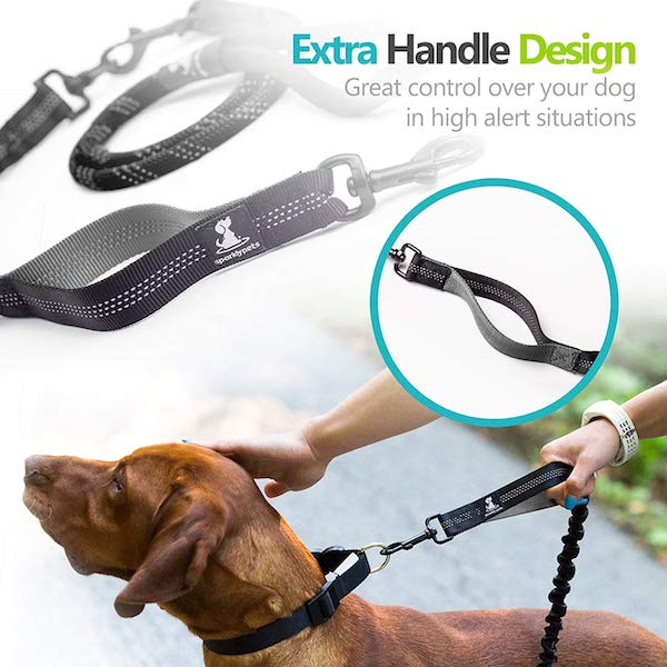 SparklyPets Heavy Duty Rope/Bungee Leash