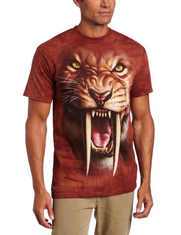 Saber Tooth Tiger T-Shirt by The Mountain