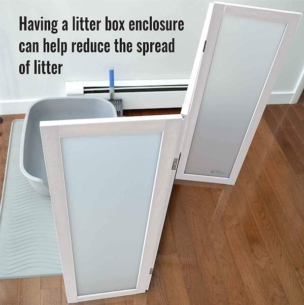 ModestCat Litter Box Privacy Screen