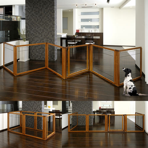 Arrange And Re Arrange This Stylish Pet Gate According To