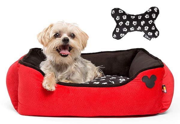 Disney Red Cuddler Pet Bed