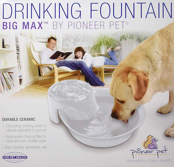 Pioneer Pet Big Max Ceramic Drinking Fountain