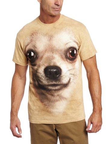 The Chihuahua Face T-Shirt By The Mountain