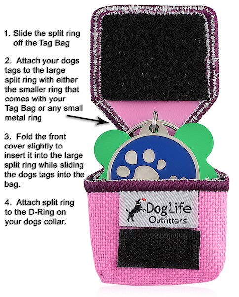 Tag Bag Dog Tag Silencer