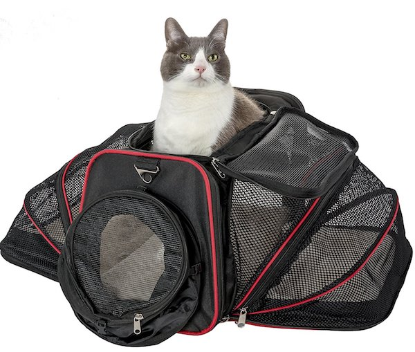 ​Pet Peppy 2 Side Expandable Pet Carrier (with tunnel)