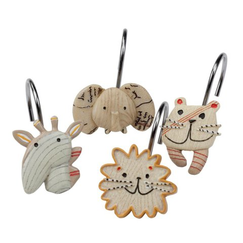 Animal Cracker Shower Hooks