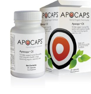 Apocaps CX Apoptogen Formula for Dogs: Image by Functional Nutriments, Amazon