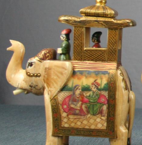 Elephant King Chess Piece
