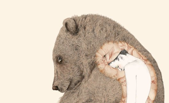 Bear Art by Barouch: You may have to check out Barouch's gallery to understand what is going on here!