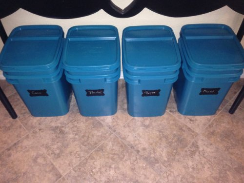Recycling Empy Kitty Litter Buckets: Via Jackie Bergeron Balsano on Pinterest