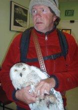 Denver Holt & Snowy Owl