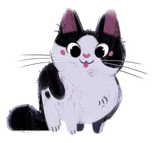 Kitten Sketch by Heather Nasheim