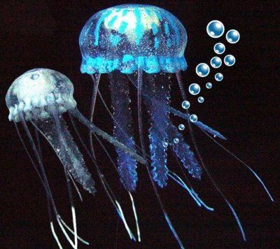 Aquarium Jellyfish ornaments by Eshopps