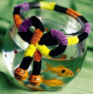 Fiendish Halloween Fish Bowl: Image by Better Home and Garden