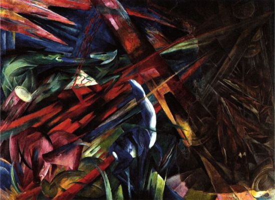 Fate of All Animals by Marc: Fate of All Animals by Franz Marc
