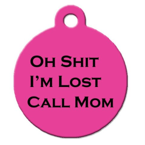 Funny Dog Tags for Pets by Big Jerk Custom Products Ltd: Dog tags for pets have come a long way over the years