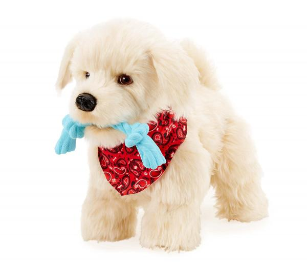 Georgie the interactive puppy for kids at Christmas