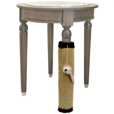 Versatile Cat Scratching Post: Jumbl Cat Scratcher Pad with Toy Mouse