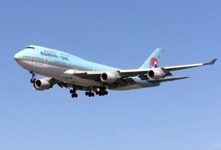 Korean Air Jet (Public Domain Image)